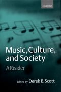 Cover for Music, Culture, and Society