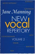 Cover for New Vocal Repertory 2