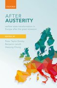 Cover for After Austerity - 9780198790273