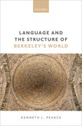 Cover for Language and the Structure of Berkeley's World - 9780198790334