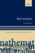 Cover for Real Analysis - 9780198790433