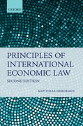 Cover for Principles of International Economic Law