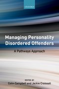 Cover for Managing Personality Disordered Offenders - 9780198791874