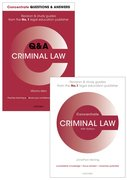 Cover for Criminal Law Revision Pack 2016