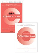Cover for Company Law Revision Pack 2016