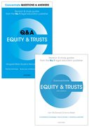 Cover for Equity & Trusts Revision Pack 2016