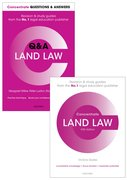 Cover for Land Law Revision Pack 2017