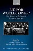 Cover for Bid for World Power?