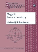 Cover for Organic Stereochemistry
