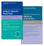 Cover for Oxford Handbook of Public Health Practice and Oxford Handbook of Medical Statistics