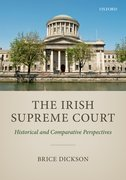 Cover for The Irish Supreme Court - 9780198793731