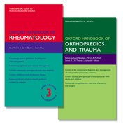 Cover for Oxford Handbook of Rheumatology and Oxford Handbook of Orthopaedics and Trauma