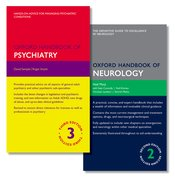 Cover for Oxford Handbook of Psychiatry and Oxford Handbook of Neurology