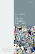 Cover for Religion in Liberal Political Philosophy