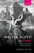 Cover for Walter Scott and Fame