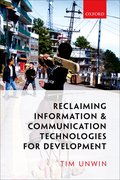 Cover for Reclaiming Information and Communication Technologies for Development - 9780198795292