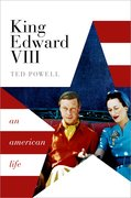 Cover for King Edward VIII - 9780198795322