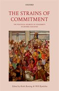 Cover for The Strains of Commitment