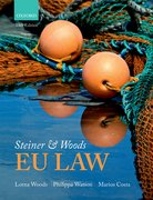 Cover for Steiner & Woods EU Law - 9780198795612