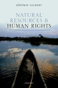 Cover for Natural Resources and Human Rights - 9780198795667