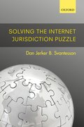 Cover for Solving the Internet Jurisdiction Puzzle - 9780198795674