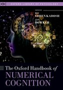 Cover for Oxford Handbook of Numerical Cognition