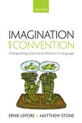 Cover for Imagination and Convention - 9780198797418