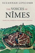 Cover for The Voices of Nîmes - 9780198797661
