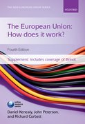 Cover for The European Union: How does it work?
