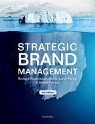 Cover for Strategic Brand Management