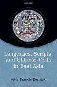 Cover for Languages, scripts, and Chinese texts in East Asia