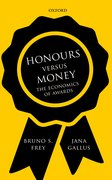 Cover for Honours versus Money - 9780198798507