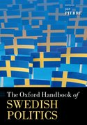 Cover for The Oxford Handbook of Swedish Politics