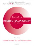 Cover for Intellectual Property Law Concentrate
