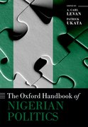 Cover for The Oxford Handbook of Nigerian Politics