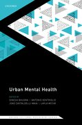 Cover for Urban Mental Health (Oxford Cultural Psychiatry series) - 9780198804949