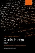 Cover for The Correspondence of Charles Hutton