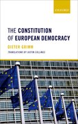 Cover for The Constitution of European Democracy - 9780198805120
