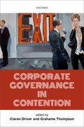 Cover for Corporate Governance in Contention