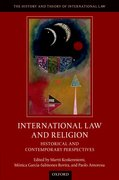 Cover for International Law and Religion