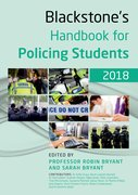 Cover for Blackstone's Handbook for Policing Students 2018 - 9780198806141