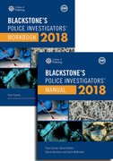 Cover for Blackstone's Police Investigators' Manual and Workbook 2018 - 9780198806332