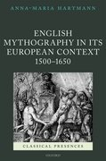 Cover for English Mythography in its European Context, 1500-1650