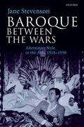 Cover for Baroque between the Wars - 9780198808770