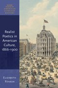 Cover for Realist Poetics in American Culture, 1866-1900