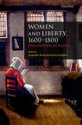Cover for Women and Liberty, 1600-1800