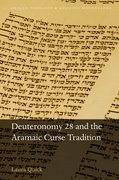 Cover for Deuteronomy 28 and the Aramaic Curse Tradition