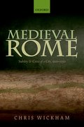 Cover for Medieval Rome - 9780198811220