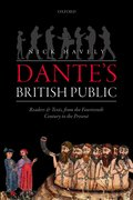 Cover for Dante's British Public - 9780198812395
