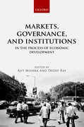 Cover for Markets, Governance, and Institutions in the Process of Economic Development